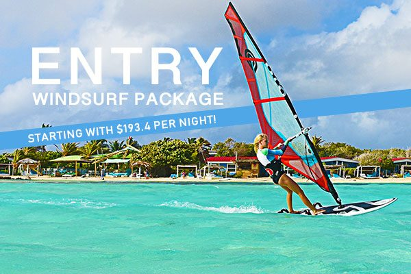 Entry Windsurfing Package