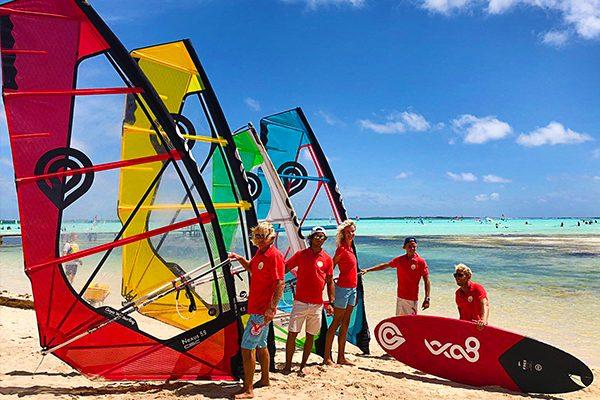 team sails